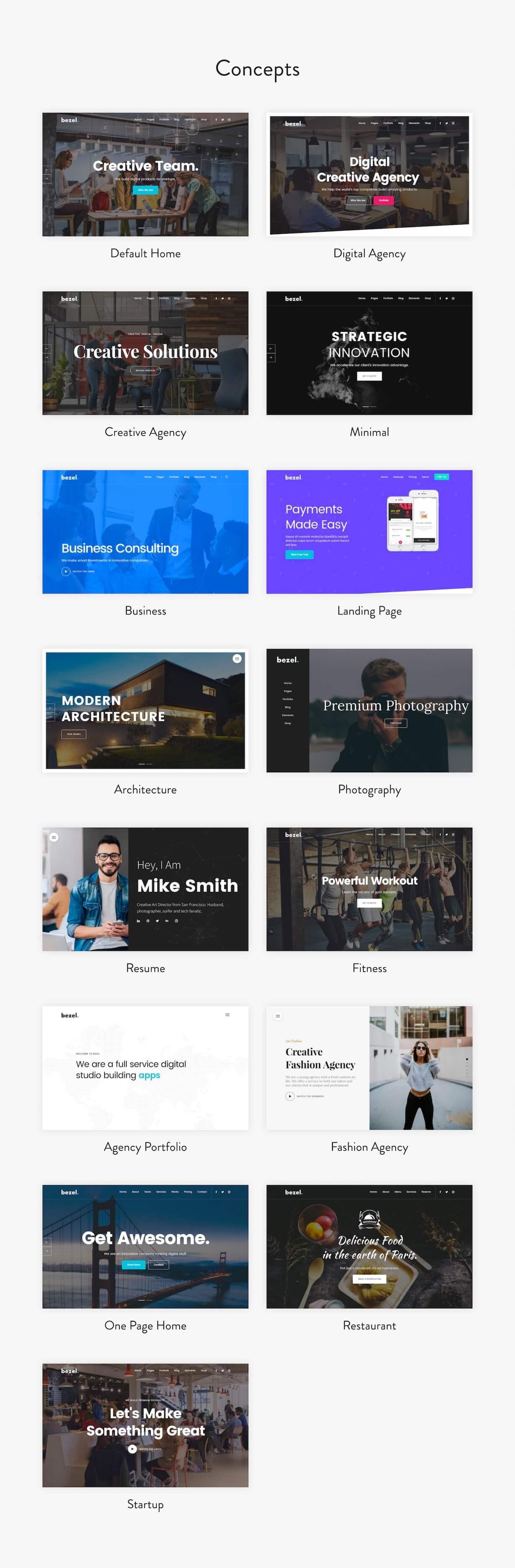 Bezel - Creative Multi-Purpose WordPress Theme - 3