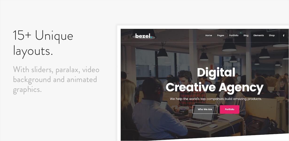 Bezel - Creative Multi-Purpose WordPress Theme - 4