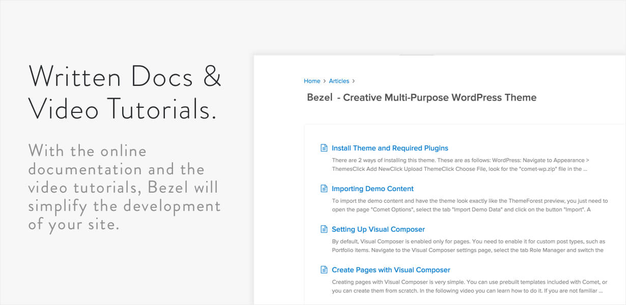 Bezel - Creative Multi-Purpose WordPress Theme - 10