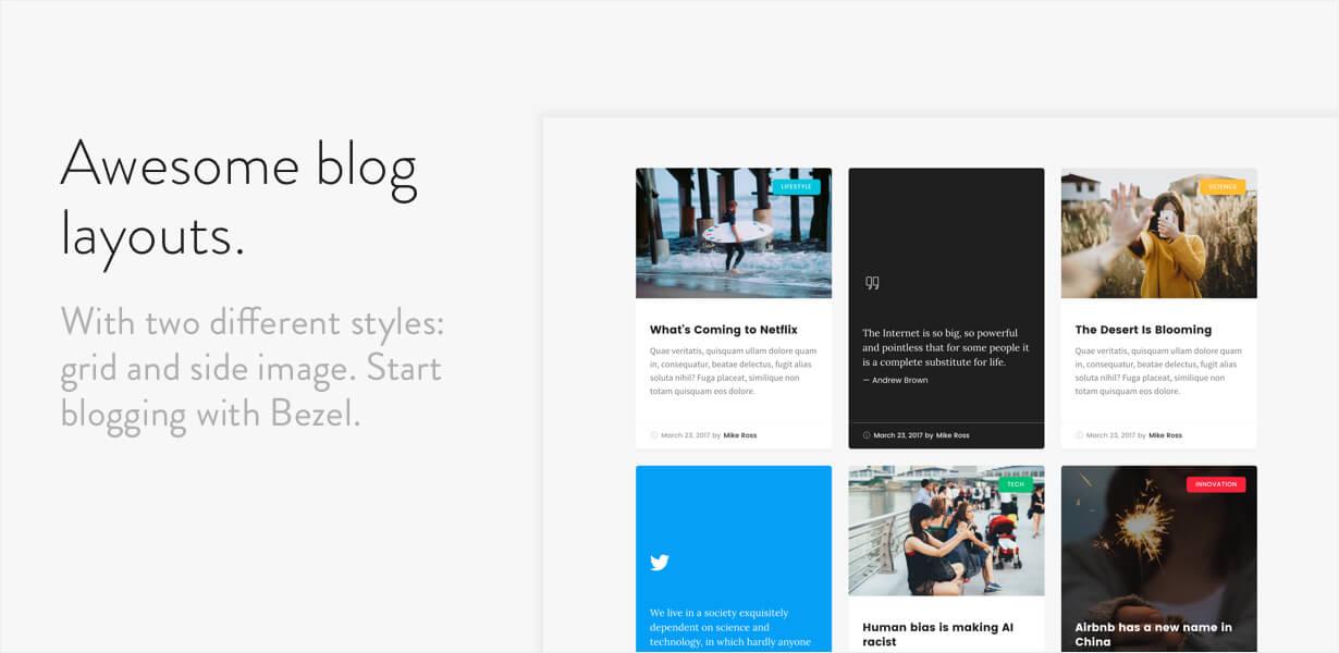 Bezel - Creative Multi-Purpose HTML Template | Prosyscom Tech 5