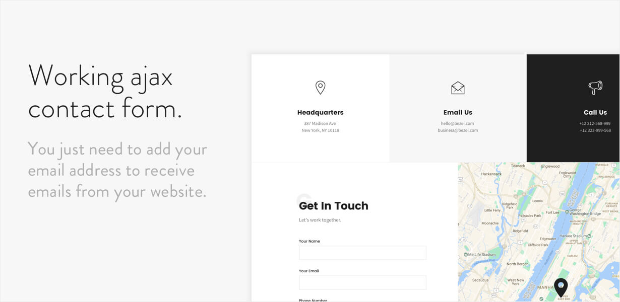 Bezel - Creative Multi-Purpose HTML Template | Prosyscom Tech 9