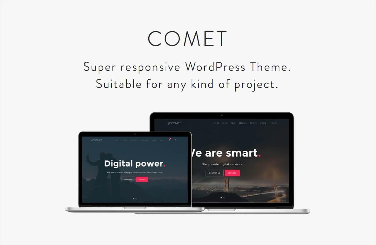 Comet - Creative Multi-Purpose WordPress Theme - 1