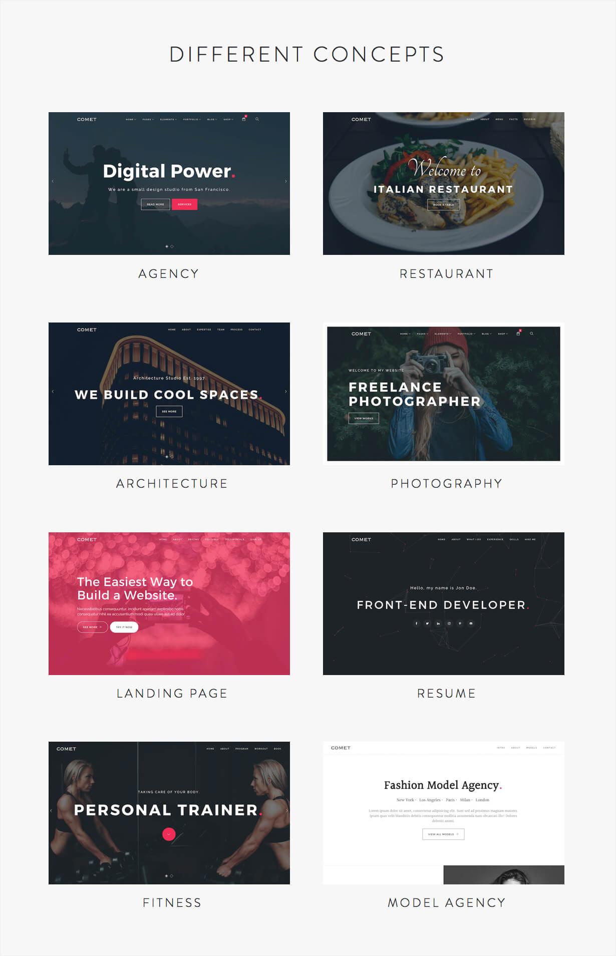 Comet - Creative Multi-Purpose WordPress Theme - 3