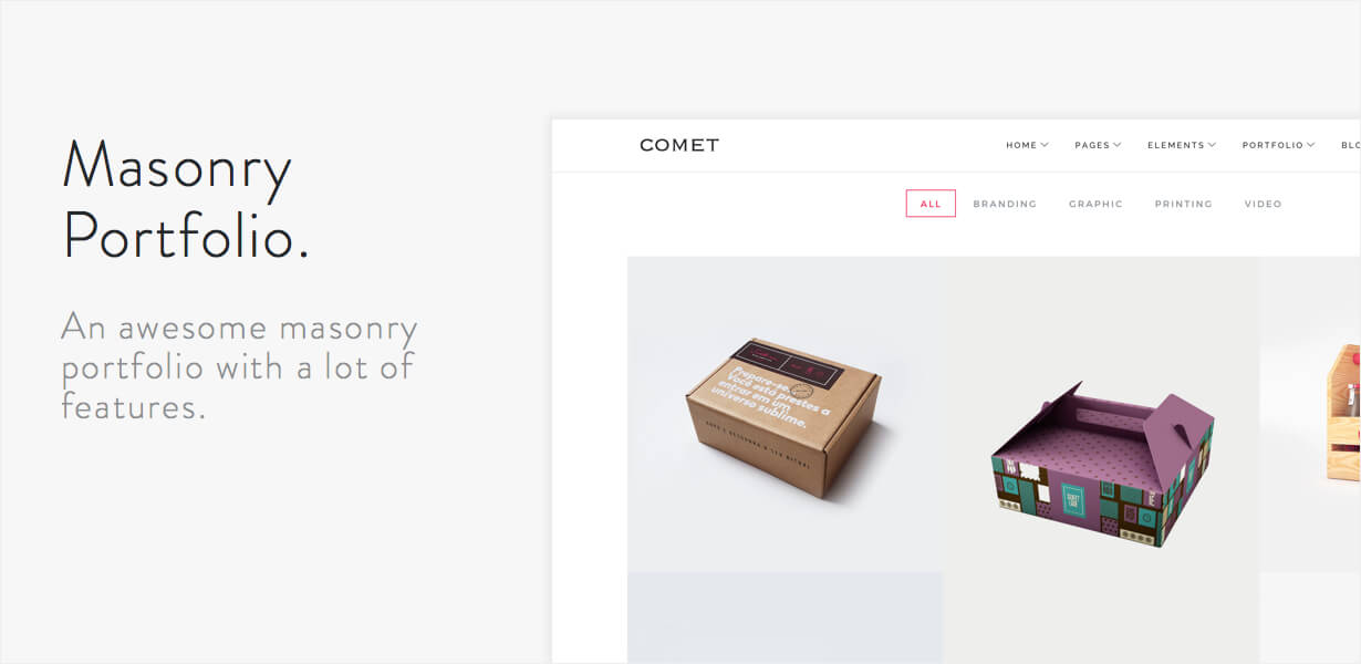 Comet - Creative Multi-Purpose WordPress Theme - 7