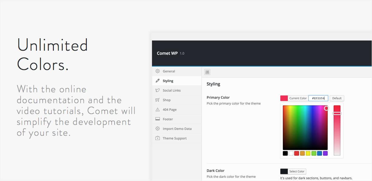 Comet - Creative Multi-Purpose WordPress Theme - 11