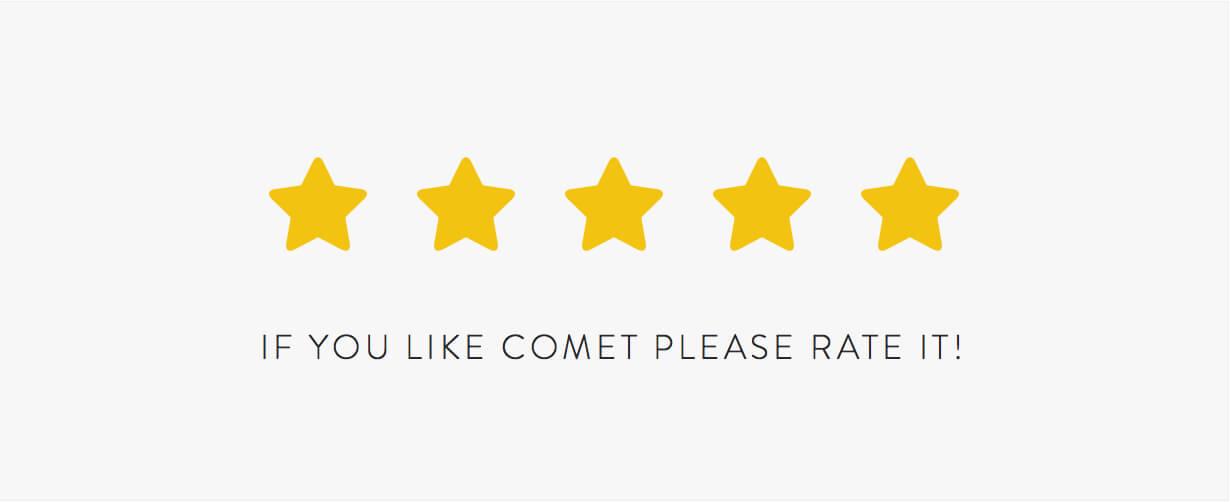 Comet - Creative Multi-Purpose WordPress Theme - 16