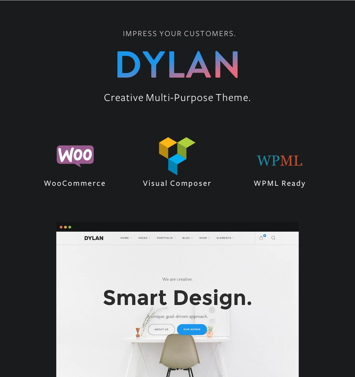 Dylan - Responsive Multi-Purpose WordPress Theme Download ...